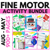 Fine Motor Activities | Fine Motor Practice Year-Long Bundle