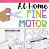 Fine Motor Activities at Home- Distance Learning