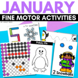 Fine Motor Activities for JANUARY