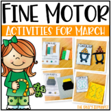 Fine Motor Activities for March