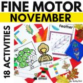 Fine Motor Activities for NOVEMBER
