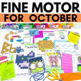 Fine Motor Activities for OCTOBER   Halloween