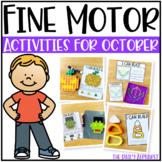 Fine Motor Activities for October