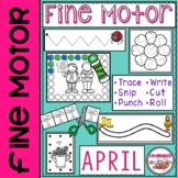 Fine Motor Practice for April
