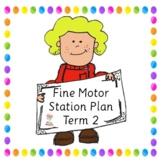 Fine Motor Activity Pack Term 2