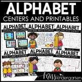 Fine Motor Alphabet Activities | Alphabet Practice BUNDLE