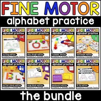 Fine Motor Alphabet Activities GROWING BUNDLE