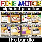 Fine Motor Alphabet Activities and Fine Motor Letter Activities BUNDLE