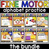 Fine Motor Alphabet Activities and Fine Motor Letter Activ