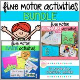 Fine Motor Alphabet Activities and Editable Name Activities
