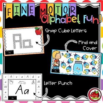 Fine Motor Alphabet Fun!
