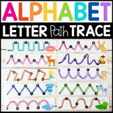 Fine Motor Alphabet Phonics: Letter Sound Tracing Mats