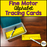 Fine Motor Alphabet Tracing Cards