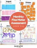 Fine Motor Assessment For Preschool/Kindergarten (Handwrit