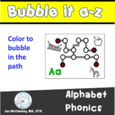Fine Motor BUBBLE IT Alphabet Phonics Labs for Centers