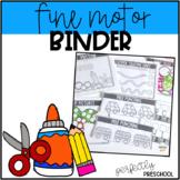 Fine Motor Binder