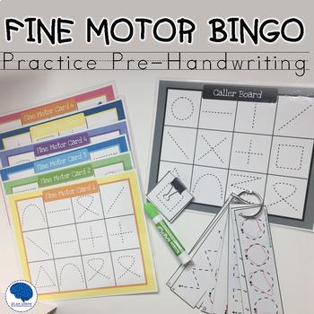 Fine Motor Bingo