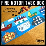 Fine Motor Box Freebie: Counting Puzzle
