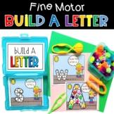 Fine Motor Build A Letter Alphabet Phonics Activity