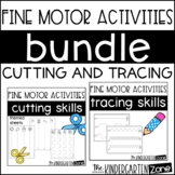 Fine Motor Bundle-Cutting and Tracing Practice