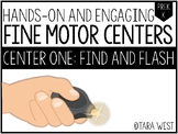 Fine Motor Centers: Find and Flash