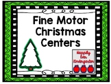 Fine Motor Christmas Centers
