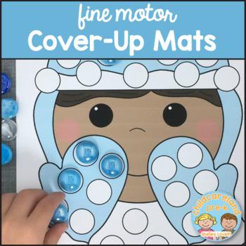 Fine Motor Cover-Up Mats