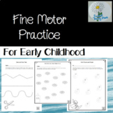 Fine Motor Cutting and Gluing Skill Practice for Early Childhood