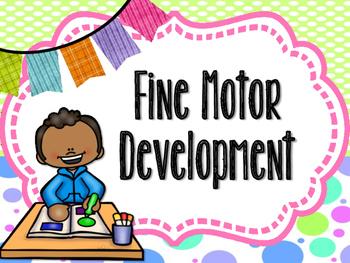 Fine Motor Development Poster Set