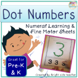 Fine Motor Dot Numbers