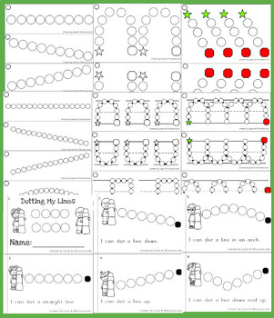 Fine Motor: Dot Prewriting