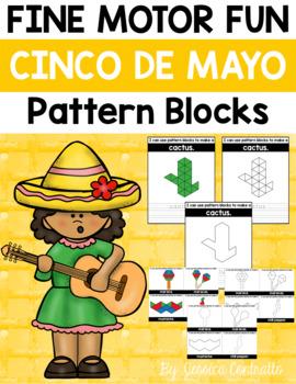 Fine Motor Fun: Cinco de Mayo Pattern Blocks