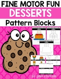 Fine Motor Fun: Dessert Foods Pattern Blocks