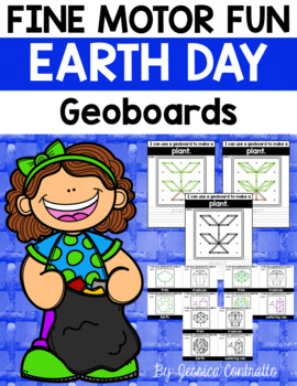 Fine Motor Fun: Earth Day Geoboards