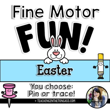 Fine Motor Activities (Preschool Spring and Easter Activities)