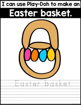 Fine Motor Fun: Easter Play-Doh