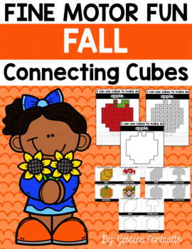 Fine Motor Fun: Fall Connecting Cubes