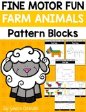 Fine Motor Fun: Farm Animals Pattern Blocks