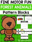 Fine Motor Fun: Forest Animals Pattern Blocks