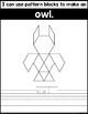 Fine Motor Fun: Forest Animals Pattern Blocks