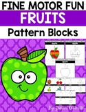 Fine Motor Fun: Fruit Foods Pattern Blocks