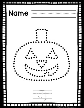 Fine Motor Activities Halloween (Pokey Pin Activities)