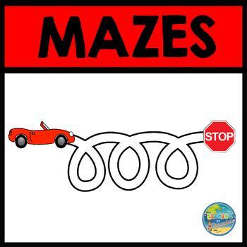 Fine Motor Fun--Mazes
