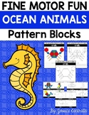 Fine Motor Fun: Ocean Animals Pattern Blocks