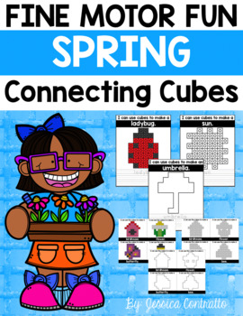 Fine Motor Fun: Spring Connecting Cubes