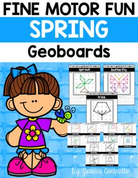 Fine Motor Fun: Spring Geoboards