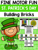 Fine Motor Fun St. Patrick's Day Building Bricks {LEGOS}