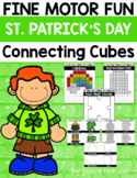 Fine Motor Fun: St. Patrick's Day Connecting Cubes