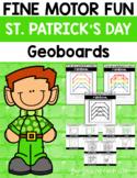 Fine Motor Fun: St. Patrick's Day Geoboards