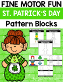 Fine Motor Fun: St. Patrick's Day Pattern Blocks